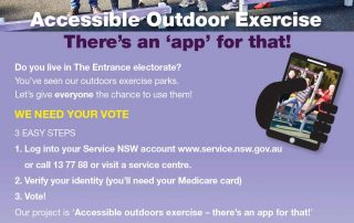 exercise-app-flyer