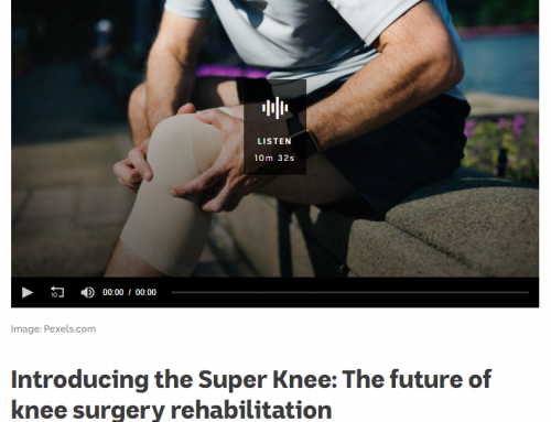 SuPeR Knee kicks off!